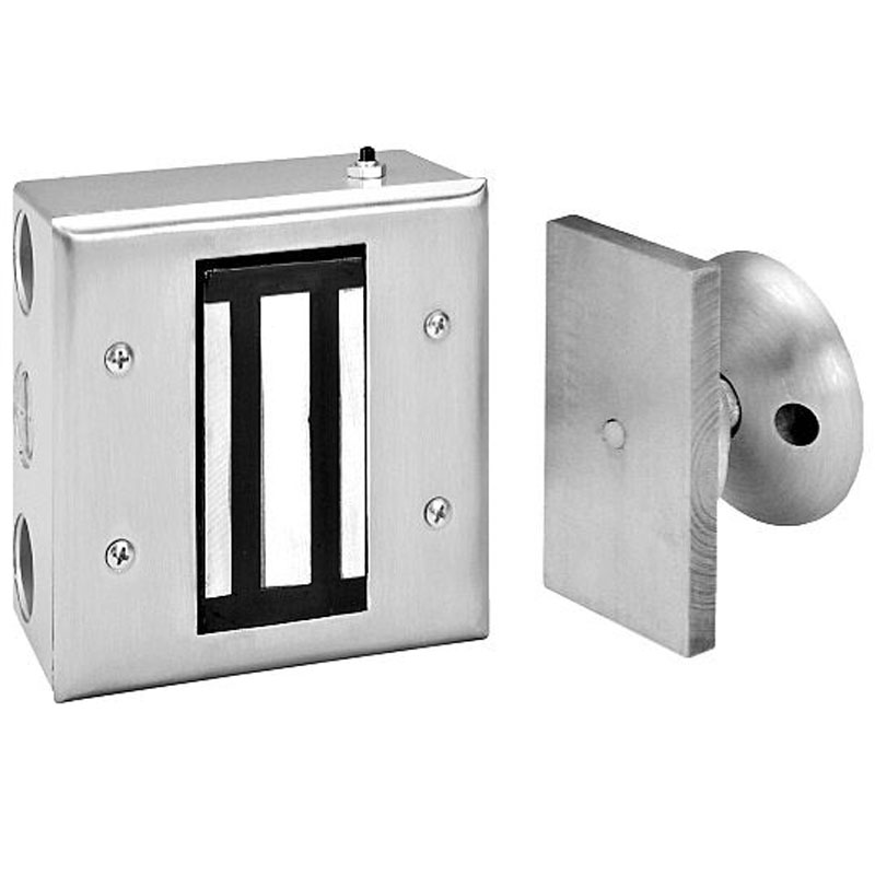 Electromagnetic Door Holders Surface Wall Mount 400 Lb